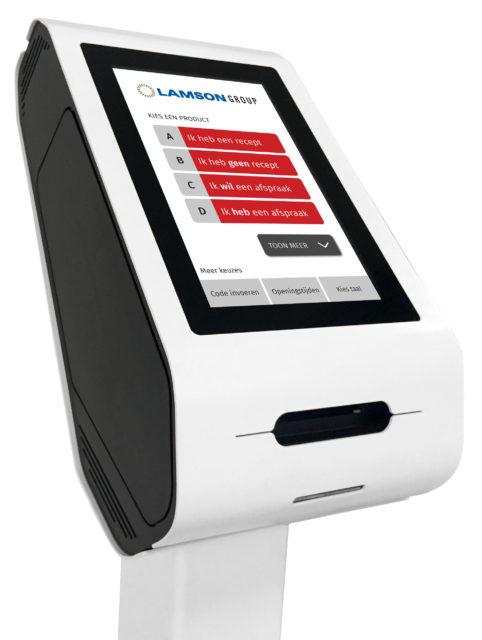 Lamson People Flow Nieuwe Compact Ticket Dispenser